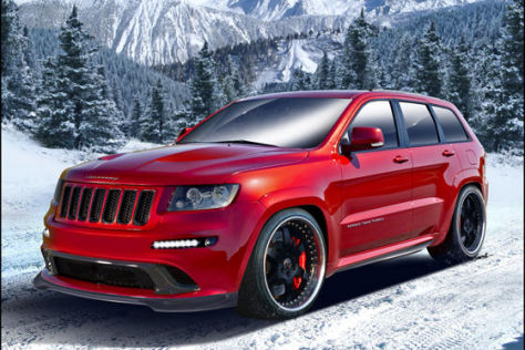 Hennessey HPE800 Twin Turbo Jeep Grand Cherokee