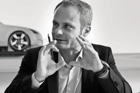 Wolfgang Egger, Leiter Konzern-Design bei Audi