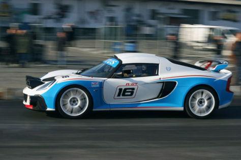 Lotus Exige R-GT Rallye Car