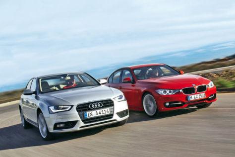 Audi A4 vs. BMW 3er