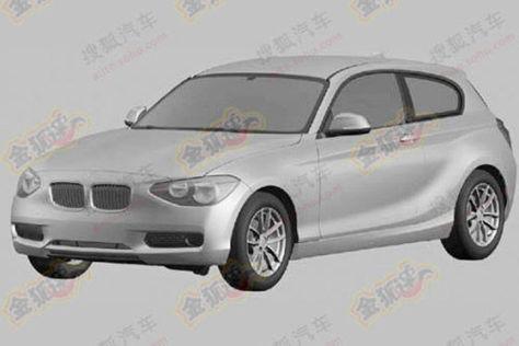 BMW 1er 3-Türer Illustration