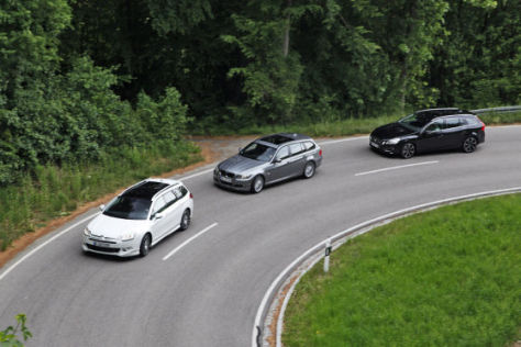 Drei noble Dieselkombis: Test