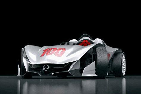 Mercedes W100F Concept