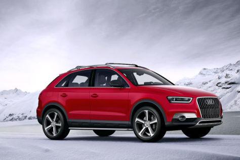 Audi Q3 Vail: Detroit 2012