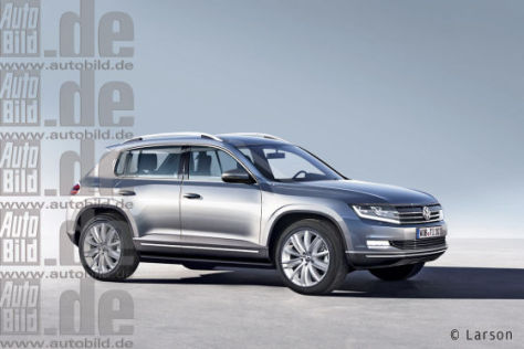 VW Tiguan Illustration