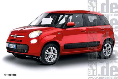 Erlkönig Fiat L0