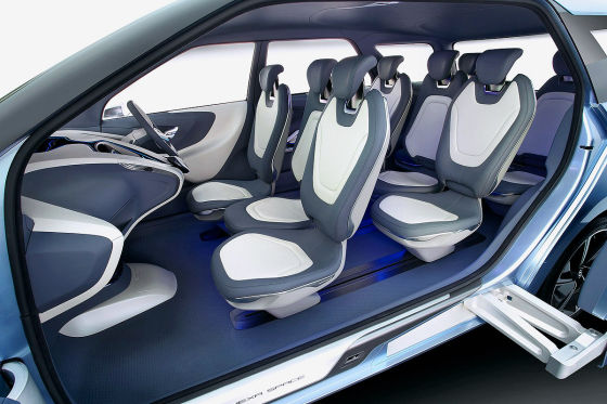 Hyundai Hexa Space Concept Innenraum