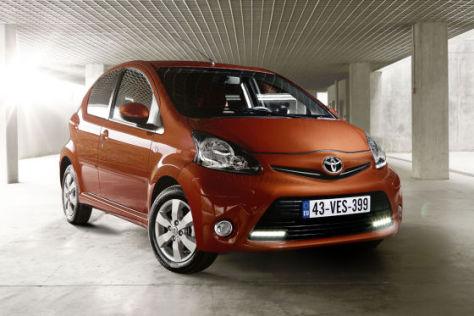 Toyota Aygo Facelift 2012