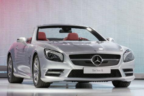 Mercedes SL: Detroit 2012
