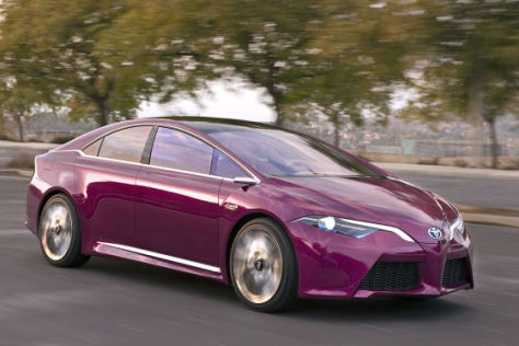 Toyota NS4: Detroit Auto Show 2012