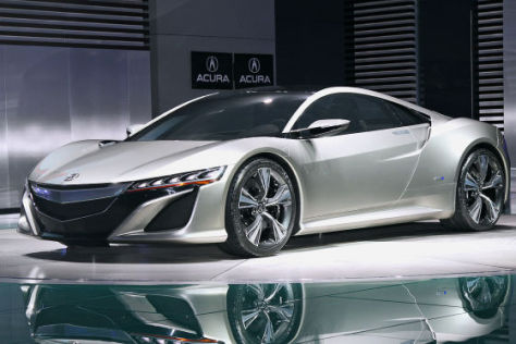 Acura/Honda NSX: Detroit Auto Show 2012