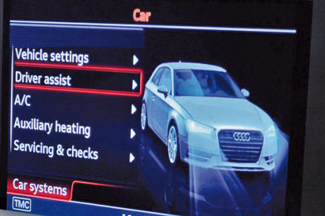 Audi A3 (2012): Display