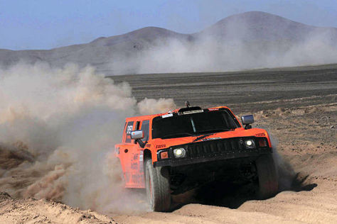 Rallye Dakar 2012: Hummer H3