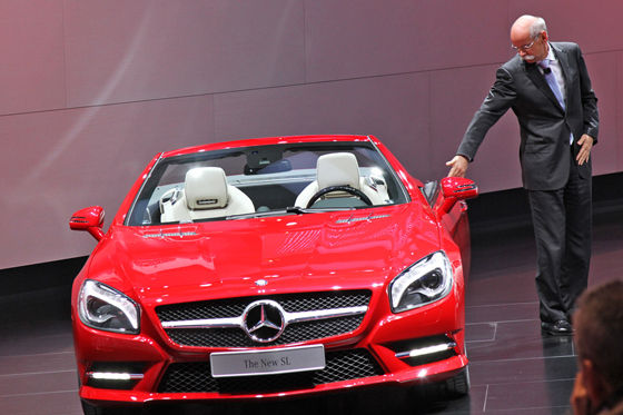 Video: Mercedes SL (2012)