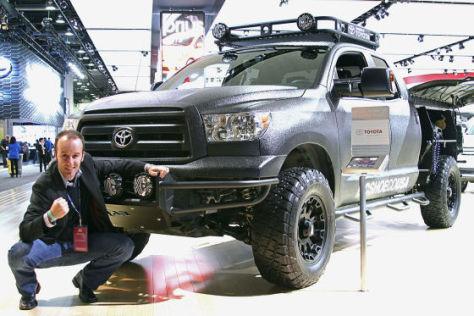 Toyota Ultimate Motocross Truck: Sitzprobe