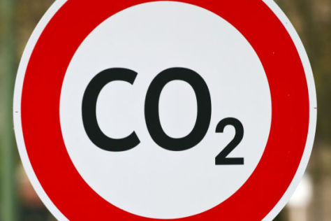 CO2-Schild