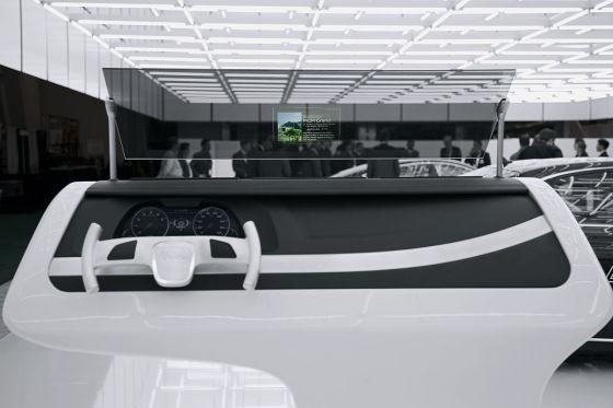 Audi Head Up Display
