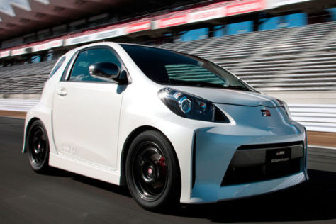 Toyota iq Supercharger