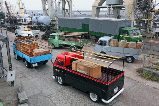 Nachkriegs-Transporter