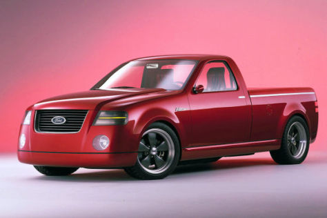 2001 Ford F-150 Lightning Rod Concept