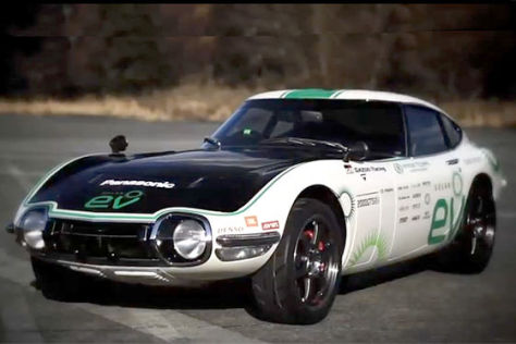 Toyota 2000GT SEV: Crazy Car Project