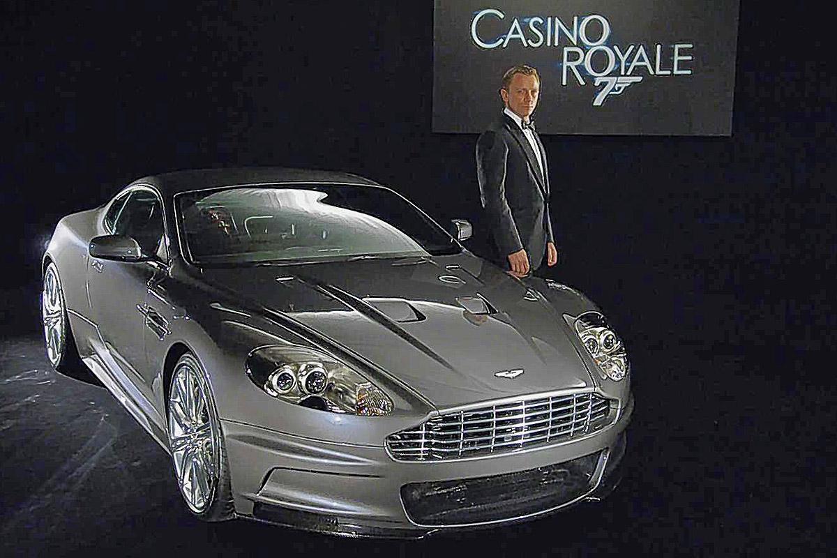 aston martin bond casino royale