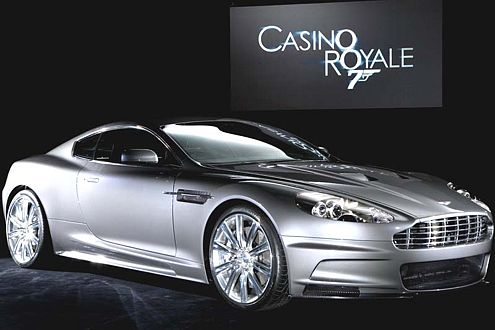 bond auto casino royal