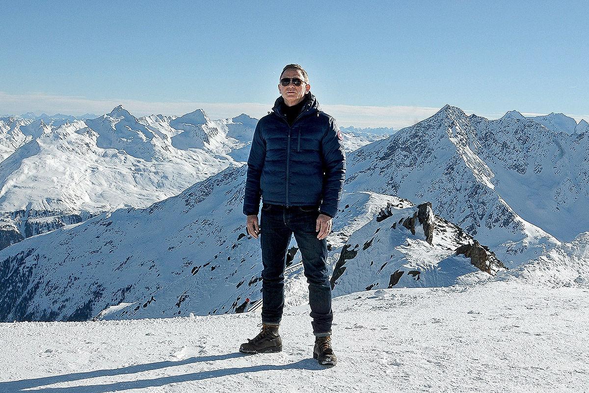 Daniel Craig in Österreich