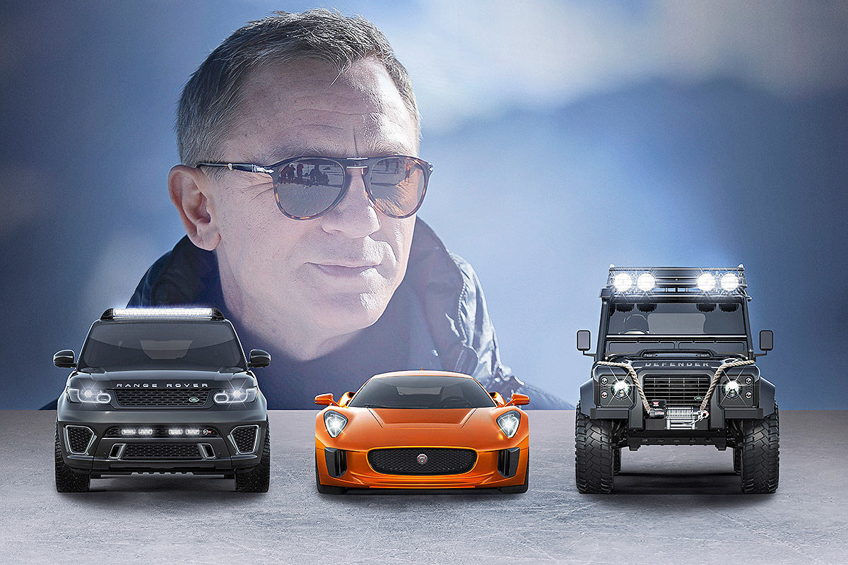 "Die Autos von James Bond ""Spectre"""