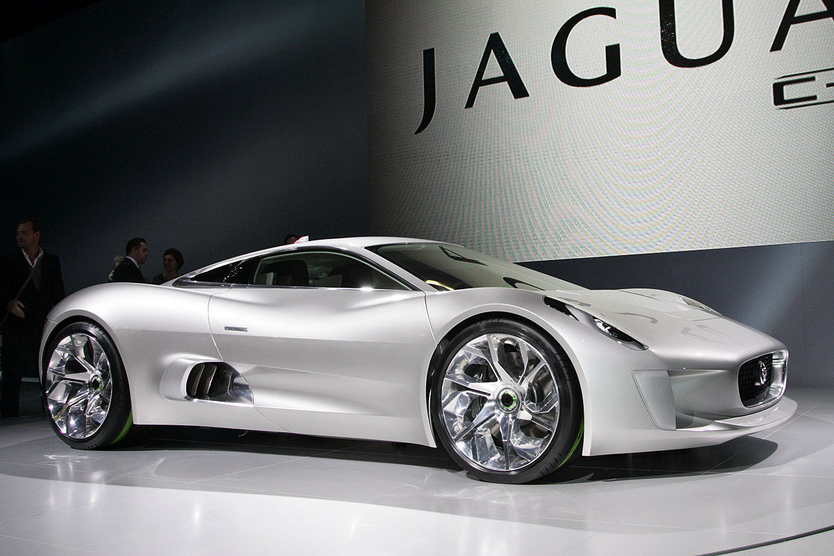 Jaguar C-X75 Autosalon Paris