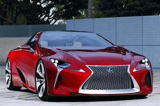 Video: Lexus LF-LC