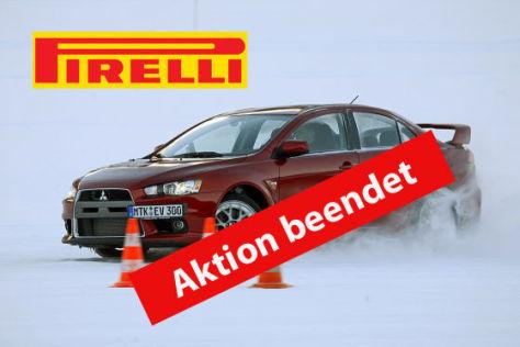 Gewinnen Sie ein Fahrsicherheitstraining mit dem Pirelli P-Zero-Club