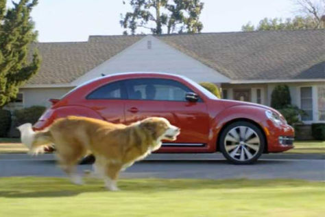 "VW Werbespot ""The Dog Strikes Back"""