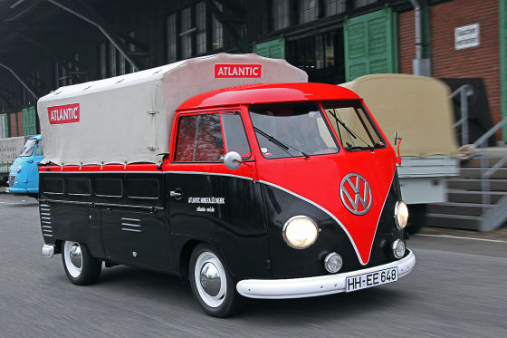 vw t1 transporter nachkriegs transporter im test auto bild klassik. Black Bedroom Furniture Sets. Home Design Ideas