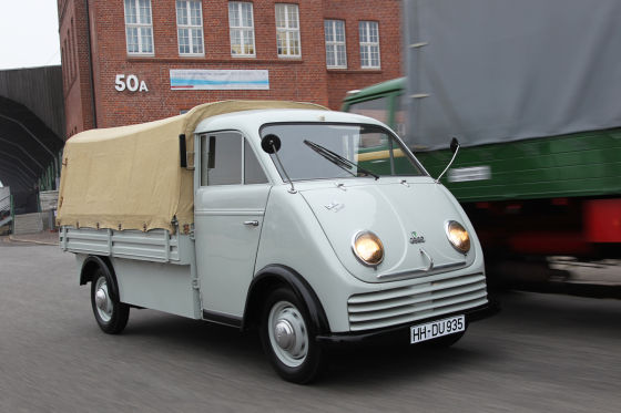 dkw schnellaster nachkriegs transporter im test auto. Black Bedroom Furniture Sets. Home Design Ideas