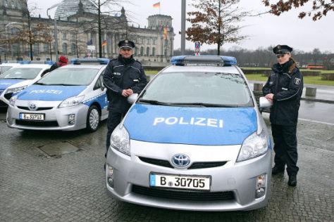 Toyota Prius Polizeiauto