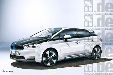 BMW i5 Illustration