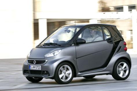 Smart Fortwo Facelift (2012)