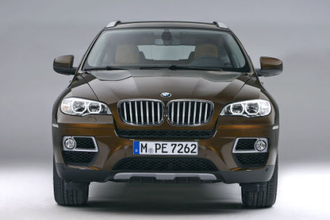 BMW X6: Facelift 2012