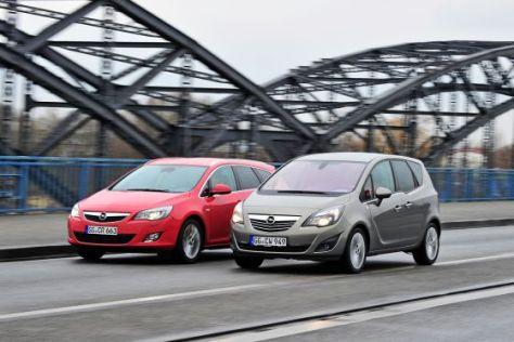 Opel Astra Opel Meriva