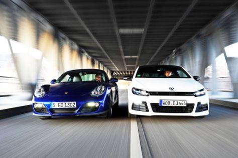 Porsche Cayman VW Scirocco