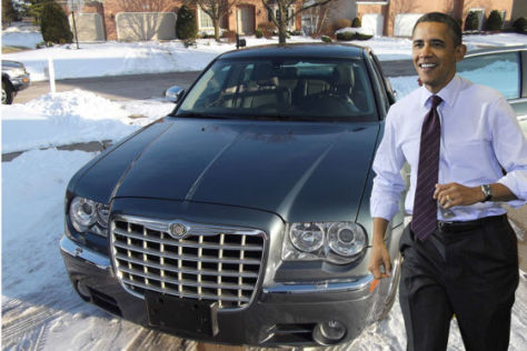 Obama-Chrysler bei ebay