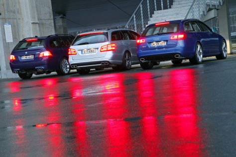 BMW M5 Touring Mercedes E 63 AMG T-Modell Audi RS6 Avant