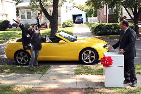 Chevrolet Camaro Werbespot zum Super Bowl 2012