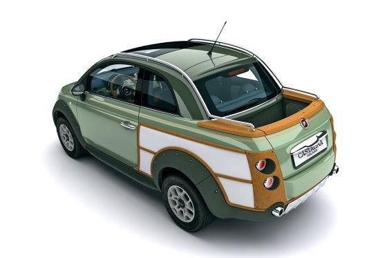 Fiat 500 CrossUp Woody Bicolor
