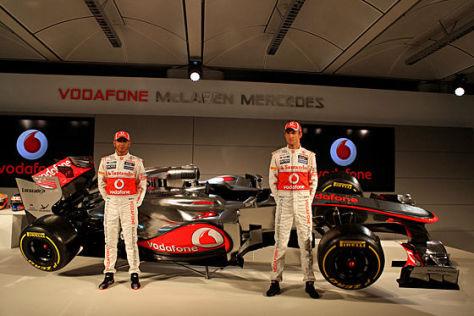 Formel 1 2012 McLaren MP4-27