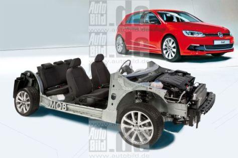 VW Golf VII Montage MQB