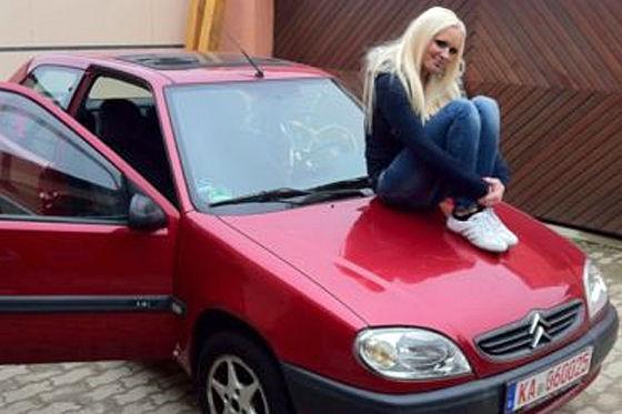 Citroën Saxo von Daniela Katzenberger