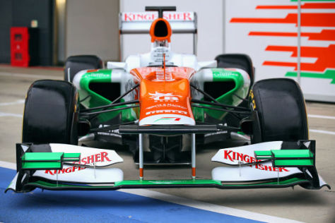Formel 1 2012: Force India VJM05