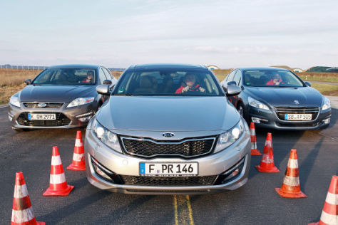 Ford Mondeo Kia Optima Peugeot 508